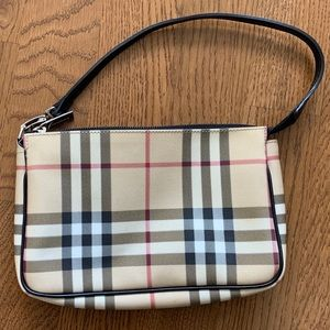Burberry Nova Check Small Shoulder Handbag